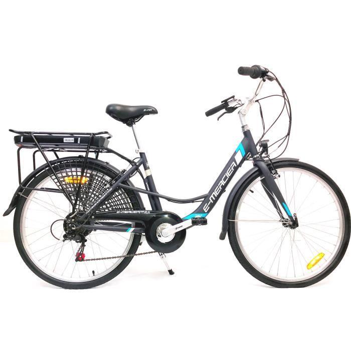 VÉLO ASSISTANCE ÉLEC MERCIER Vélo Electrique E-Urban Cadre Acier 6 Vite