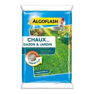 PIÈGE NUISIBLE JARDIN ALGOFLASH Chaux pour gazon et jardin - 10 kg