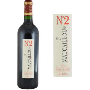 VIN ROUGE Numéro 2 de Maucaillou Second Vin 2013 - Vin Rouge