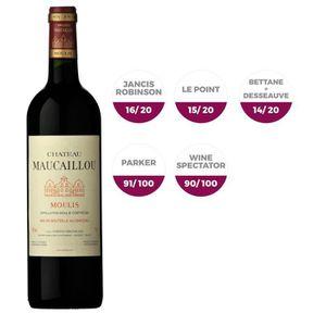 VIN ROUGE Château Maucaillou Moulis 2014 - Vin Rouge x6