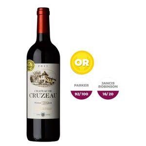 VIN ROUGE Château de Cruzeau Pessac Léognan 2015 - Vin rouge