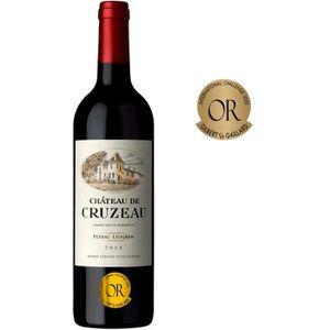 VIN ROUGE Château de Cruzeau 2016 Pessac-Léognan - Vin rouge