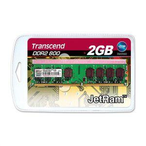 MÉMOIRE RAM Transcend JetRam JM800QLU-2G