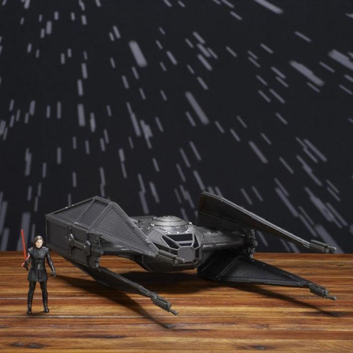 VAISSEAU SPATIAL STAR WARS - Vehicule Tie Silencer + Figurine Kylo