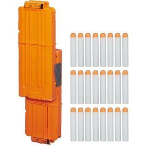 PISTOLET BILLE MOUSSE NERF MODULUS - Kit Double Chargeur