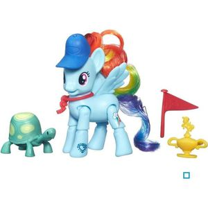 FIGURINE - PERSONNAGE MY LITTLE PONY - RAINBOW DASH Le Coup Gagnant