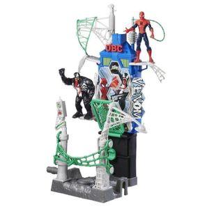 FIGURINE - PERSONNAGE SPIDERMAN - Duel à Web City
