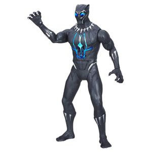 FIGURINE - PERSONNAGE BLACK PANTHER - Figurine Electronique Deluxe 35cm