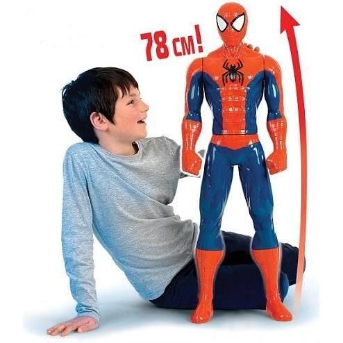 spiderman figurine 78 cm achat vente figurine personnage cdiscount. Black Bedroom Furniture Sets. Home Design Ideas