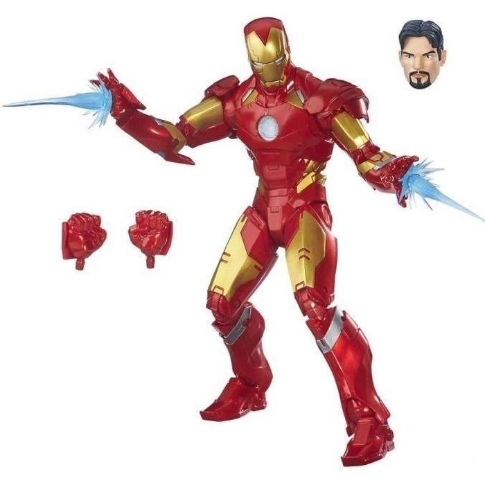 FIGURINE - PERSONNAGE AVENGERS - Iron Man - Figurine Premium Marvel Lege