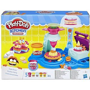 JEU DE PÂTE À MODELER PLAY-DOH Kitchen Créations - Cake Party