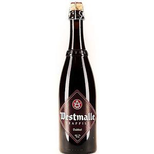BIÈRE BRASSERIE WESTMALLE Trappist Double - Bière Brune