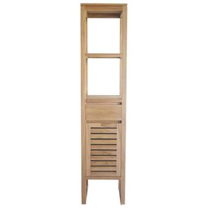 Meubles de salle de bain en bois naturel - Achat / Vente Meubles ...