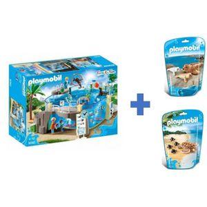 UNIVERS MINIATURE PLAYMOBIL - Family Fun - Aquarium Marin + Phoques