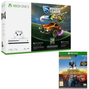 CONSOLE XBOX ONE Xbox One S 1 To Rocket League + PUBG