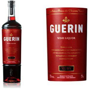 Apéritif à base de vin Pineau Guerin Ruby Rouge  17° 75 cl
