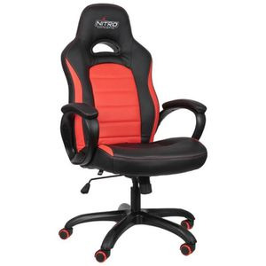 SIÈGE GAMING NITRO CONCEPTS C80 Pure Fauteuil Baquet Gaming Noi