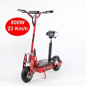 TROTTINETTE ELECTRIQUE Trottinette Electrique 800W Rouge