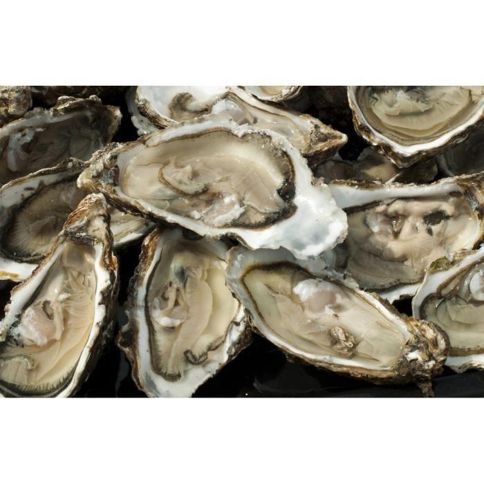 COQUILLAGE  Huîtres n3 - 24 pièces + 6 offertes produits Frais