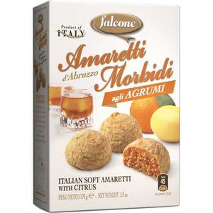GÂTEAU PÂTISSIER FALCONE Amaretti saveur agrumes - 170 G