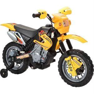 VOITURE ENFANT E-ROAD Moto Electrique Enfant Jaune