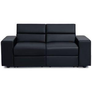 CANAPÉ - SOFA - DIVAN TILIO Canapé de relaxation électrique 2 places - S