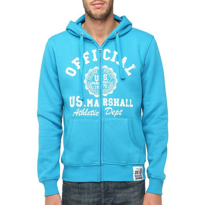 outlet new high quality buy popular US MARSHALL Veste Sweat Zippée Homme - Achat / Vente ...