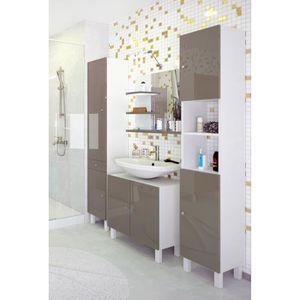 Miroir salle de bain 70 cm achat vente pas cher - Hauteur d un miroir de salle de bain ...