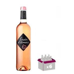 VIN ROSÉ Grain d'Amour - Vin rosé doux du Sud Ouest