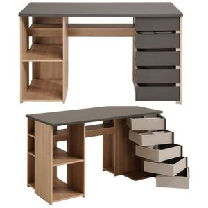 bureau style atelier achat vente bureau style atelier pas cher soldes d s le 10 janvier. Black Bedroom Furniture Sets. Home Design Ideas