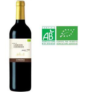 VIN ROUGE CUVÉE DE L'ANCIEN COURRIER Vin Bio des Corbières -