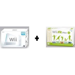 CONSOLE WII PACK WII + WII FIT PLUS