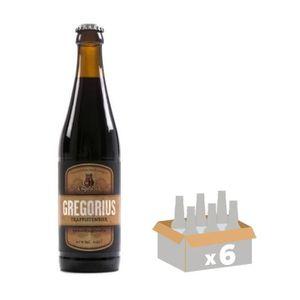 BIÈRE ENGELSZELL GREGORIUS Bière Brune 10,5° 0,33 L x 6
