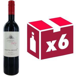 VIN ROUGE Santa Julia 2013 Malbec - Vin rouge d'Argentine