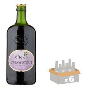 BIÈRE ST PETER'S CREAM STOUT Bière Brune 6 x 0,50 L 6,5°