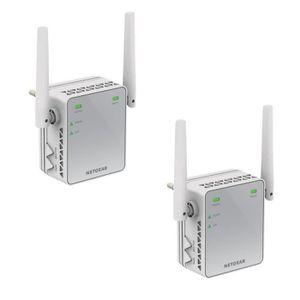 POINT D'ACCÈS NETGEAR Lot de 2 répéteurs WiFi 300 Mbps