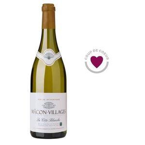 VIN BLANC Cave de Lugny 2016 Mâcon-Villages - Vin blanc de B