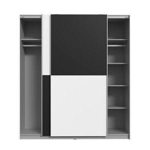armoire achat vente armoire pas cher soldes d s le 10 janvier cdiscount. Black Bedroom Furniture Sets. Home Design Ideas