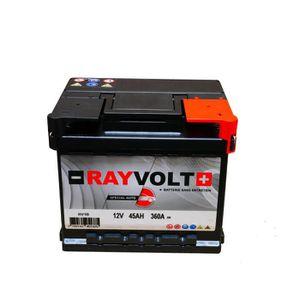 BATTERIE VÉHICULE Batterie auto RAYVOLT RV1B 45AH 360A