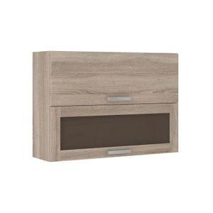 meuble haut de cuisine en vitre - achat / vente meuble haut de