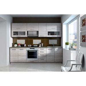 meuble haut cuisine vitree achat vente pas cher. Black Bedroom Furniture Sets. Home Design Ideas