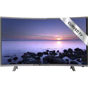 Téléviseur LED CONTINENTAL EDISON TV LED Full HD Écran incurvé 11