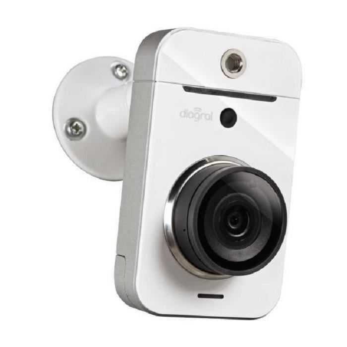 DIAGRAL VISIO Caméra De Surveillance Intérieur HD Connectée DIAG21VCX