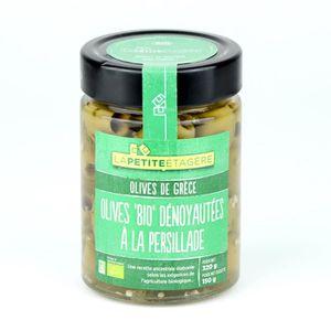 OLIVE LA PETITE ETAGERE Olives dénoyautées à la persilla