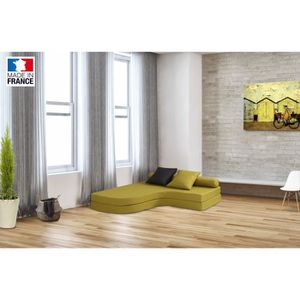 chauffeuse 2 places convertible achat vente chauffeuse 2 places convertible pas cher cdiscount. Black Bedroom Furniture Sets. Home Design Ideas