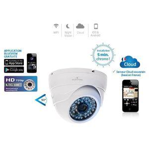 CAMÉRA IP Bluestork Caméra Cloud HD Dôme d'intérieur WiFi co