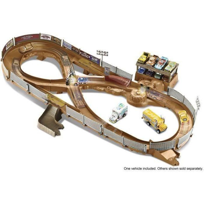 cars 3 circuit thunder hollow achat vente v hicule circuit cdiscount. Black Bedroom Furniture Sets. Home Design Ideas