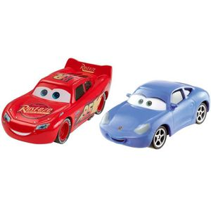 VOITURE - CAMION CARS - Pack 2 Véhicules Lightning McQueen & Sally