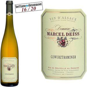 VIN BLANC Domaine Deiss 2014 Gewurztraminer - Vin blanc d'Al