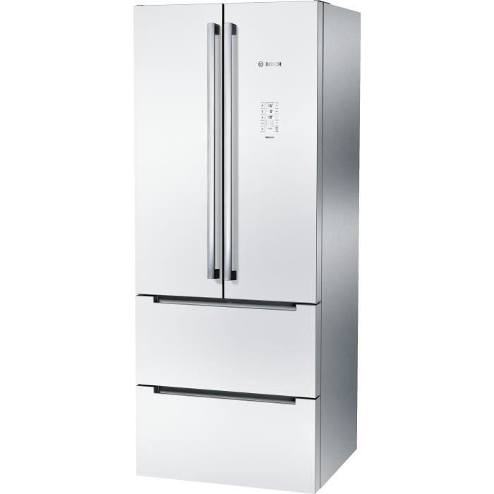 Bosch kmf40sw20 r frig rateur multi portes 400l 294 106 froid ventil a l 75cm x h - Refrigerateur congelateur bosch froid ventile ...